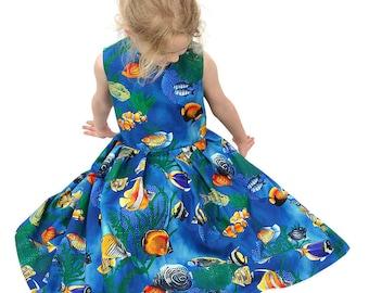 Twirly Dress Sea Princess
