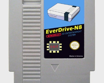 Everdrive N8 Nintendo NES + 8 gb Sd Card (CHINA VERSION)