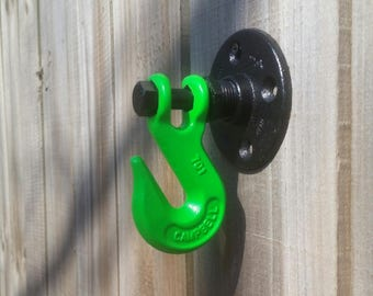 Industrial Wall Hook *Green*