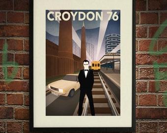 Croydon 76 B - A2 Poster Print