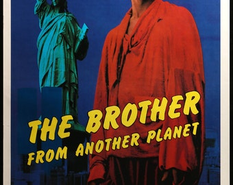 "Brother from Another Planet (1984) Original Movie Poster - 27"" x 41"""