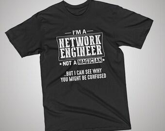 Network Engineer Not a Magician T-Shirt