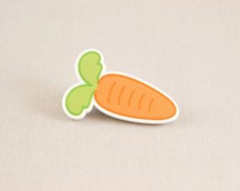 Acrylic hair clip - Carrot