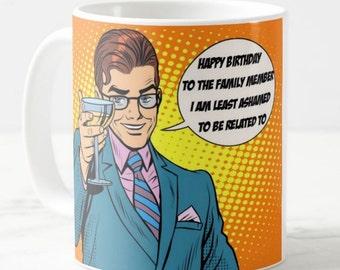 Funny Coffee Mug, Best Friend Mug, 50's Mug, Adult Mug, Retro Mug, Adult Gift, Retro Mug, 50's Mug, Birthday Gift, Pop Culture, Unique Gift