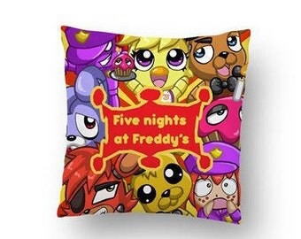Five nights at freddys complete cushion