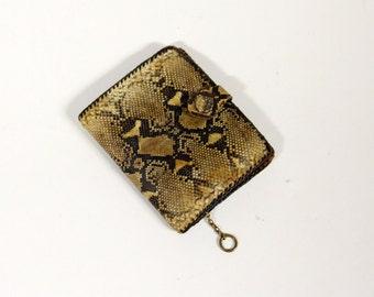 Vintage wallet of snakeskin-Fair