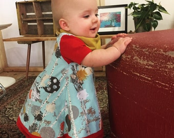 Autumn Walk Tunic // baby shirt // toddler shirt // baby dress  // flower shirt