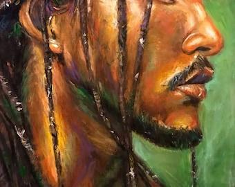 Dreads - Afro Art Print