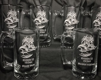 Group or Individual Personalized Beer Mugs