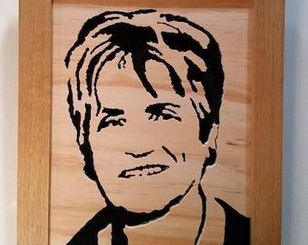 Wood Portrait Mothers day