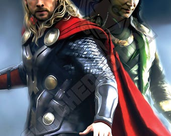 For Asgard Digital Painting