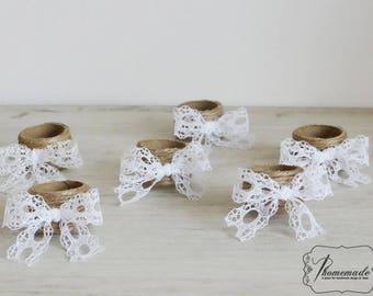 Wedding napkin rings Etsy