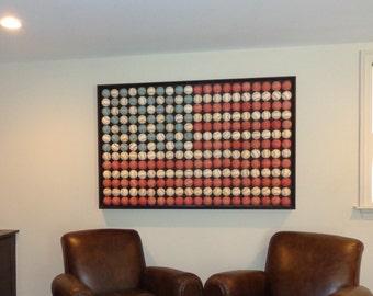 Baseball American Flag (Heirloom Quality)