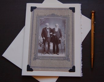 Vintage Gay Card, LGBTQ - Together - anniversary, second marriage, growing old together