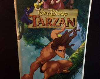 Tarzan on VHS Tape - Walt Disney - Vintage 90s Disney Movies