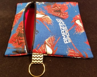 Spider Man Zippered Pouch