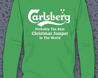 Carlsberg Best Christmas Jumper Sweatshirt