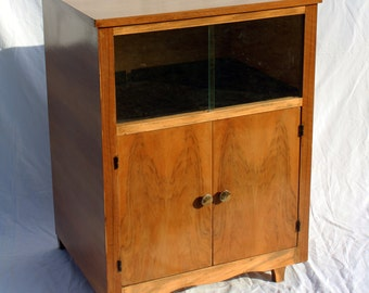 Small bar furniture of vintage storage cabinet