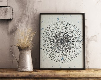 Mandala , Mandala art , printable mandala , print , illustration , drawing , vintage , doodle art , meditation , boho art , inspiration ,ink