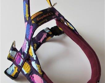 Unique, handmade dog harness