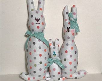Easter decoration, bunny gift, gift for children, stuffed toy, stuffed bunny, interior decoration, toy, easter bunny set, bunny decor, bunny