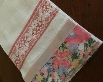 Tea Towel Pretty in Pink