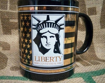 Statue of Liberty Centennial Mug 1896-1996 - Keep the Torch Lit