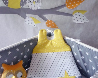 PROMO bumper and yellow PATCHWORK sleeping bag