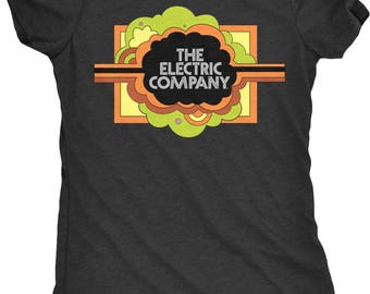 Electric Company Women's Tri-Blend T-Shirt - Plus sizes available!