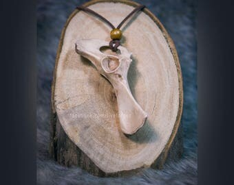 Fox basin necklace  - resin cast replica