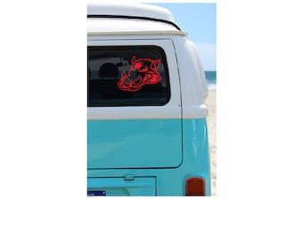Razorback Stickers Etsy - Custom vinyl stickers for cars   the advantages