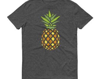 Pineapple - Men's/Unisex T-Shirt - Fruit, Fineapple, Pizza, Color, Ananas