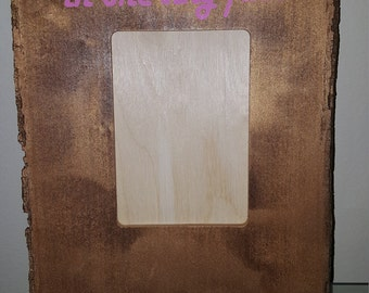 Wooden 5x7 Picture Frame Baby Girl