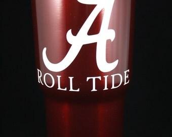 Alabama Crimson Tide rtic yeti 30 oz