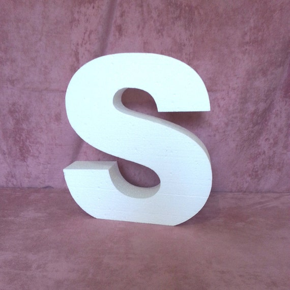 Giant Letters 20 36 Inches 3D Letters Large Free Standing