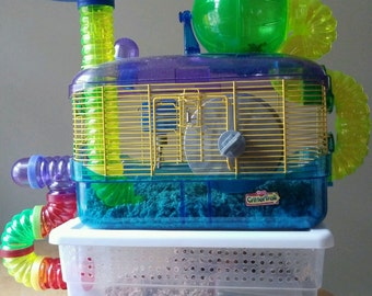 Hamster Condo...:)...Additional play room for your Hamster