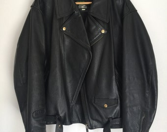 Vintage MARS Leather Biker Jacket