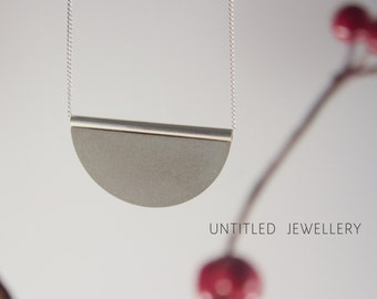 Untitled - Concrete & Sterling Silver Necklace