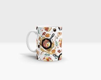 Bacon and Eggs Mug. 11oz Ceramic Mug.