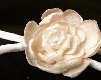 White Mini Rose Center