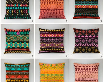 Ethnic pillow Boho pillow cover Decorative pillow Throw pillow case hippie cushions boho chic cushion case hippie pillow Indian pillow