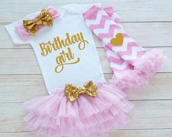 Birthday Girl Bodysuit, Baby Girl Outfit, Princess Birthday Shirt, Cake Smash Outfit, Girls First Birthday Outfit, Baby Girl Birthday Outfit