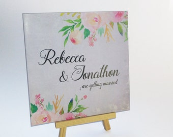 Floral Beauty Wedding Invite, Floral Wedding Invitation, Rustic Wedding Invitation
