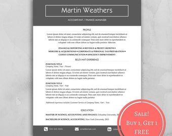 Certifications For Resume Cv Template  Etsy Example Engineering Resume Excel with Print Out Resume Pdf  Resume Business Cards Word
