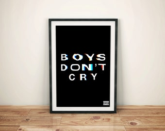 Boys Don't Cry Poster - Frank Ocean  (A3)