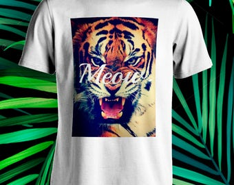 """Tiger """"Meow"""" swag dope T-Shirt"""