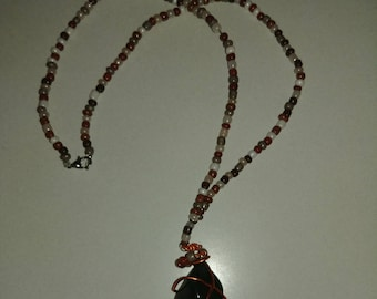 Wire Crystal Necklaces