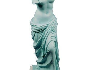 Aphrodite sculpture Venus Alabaster Goddess of love and beauty on base statue
