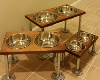 Raised dog bowls (medium)