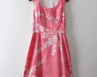 vintage 1970s floral dress // 70s adorable floral sun dress
